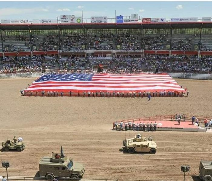"Community Cheyenne Frontier Days the 122nd ""Daddy of 'em all"" ®"